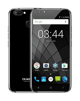 OUKITEL Smartphone U22, 5.5in HD, 2GB/16GB, 4 Cameras, Black