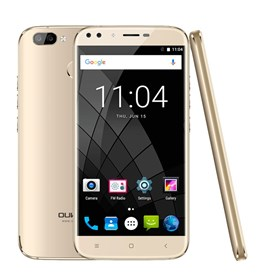 OUKITEL Smartphone U22, 5.5in HD, 2GB/16GB, 4 Cameras, Gold